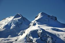 Free Castor And Pollux Summits Stock Image - 21292201