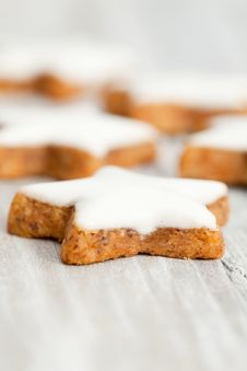 Free Cinnamon Biscuits Royalty Free Stock Image - 21292206