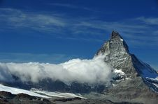 Free Matterhorn Summit Switzerland Royalty Free Stock Photo - 21292245