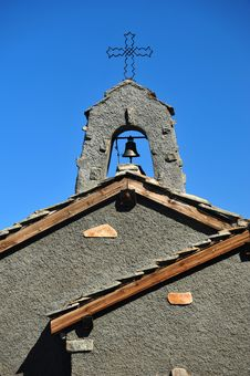 Free Church Bell Tower Royalty Free Stock Photo - 21292285
