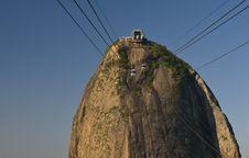 Free Rio De Janeiro - The Sugar Loaf Peak Stock Images - 21293304