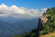 Free Steep Rock. Stock Image - 21293931