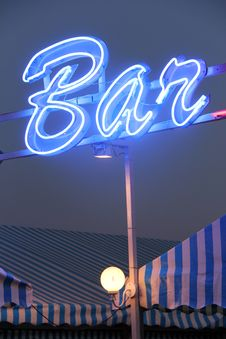 Free Bar Light Royalty Free Stock Photography - 21294517