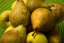 Pears And Apples Royalty Free Stock Photography