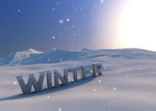 Free Winter Scene Royalty Free Stock Photography - 21294767