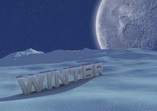Free Winter Scene Royalty Free Stock Photo - 21294775