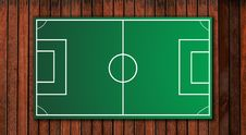 Free Football Tactical Board Royalty Free Stock Image - 21295056