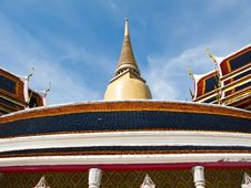 Free Wat Ratchabophit In Bangkok , Thailand Royalty Free Stock Photo - 21295225