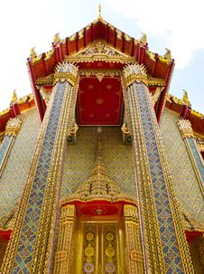 Free Wat Ratchabophit Temple In Bangkok , Thailand Royalty Free Stock Image - 21295316