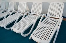 Free Beach Chairs Royalty Free Stock Images - 21295449