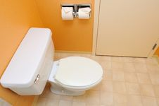 Free Clean Toilet Stock Photography - 21295462