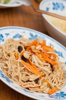 Free Chinese Prosperity Noodles Stock Photos - 21295473