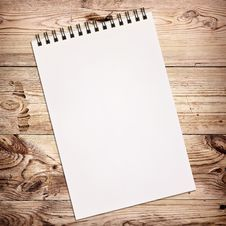 Free White Notebook For Painting Stock Photo - 21295840