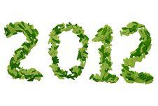 Free 2012 Year Stock Image - 21296051