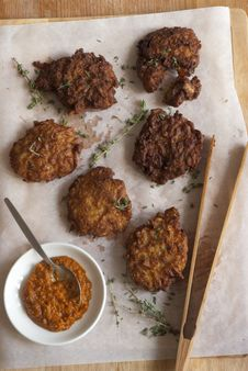 Free Onion Bhajis Stock Photo - 21296160