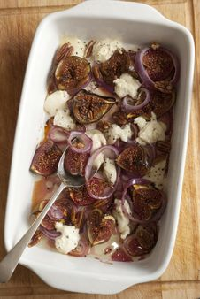 Free Fig Salad Royalty Free Stock Images - 21296169