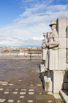 Free Brussels Statues Stock Photo - 21296270
