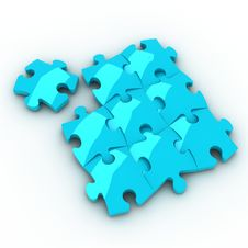 Free Jigsaw Puzzle Stock Photography - 21296442