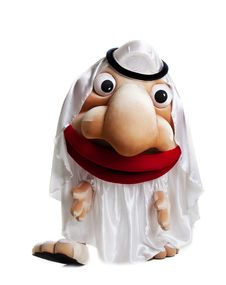 Free Traditional Arabian Mascot Costume Isolated Royalty Free Stock Photography - 21296447