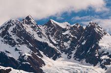 Free Closeup Of Snowy Mountains Stock Photos - 21296583