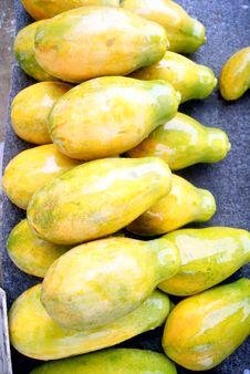 Free Papaya Royalty Free Stock Image - 21296616
