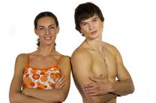 Free Portrait Of A Girl And Guy Royalty Free Stock Photos - 21296638