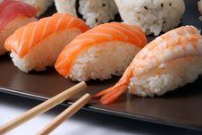 Free Sushi Royalty Free Stock Image - 21297126