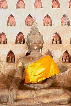 Free Buddhist Figure Royalty Free Stock Image - 21297156