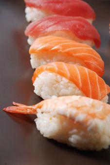 Free Sushi Royalty Free Stock Photo - 21297195