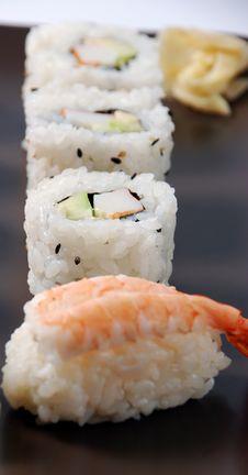 Free Sushi Royalty Free Stock Photography - 21297297