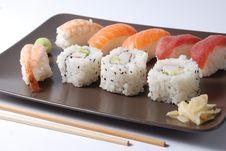 Free Sushi Royalty Free Stock Photography - 21297347