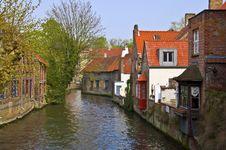 Free Bruges. Belgium. Royalty Free Stock Photo - 21297795