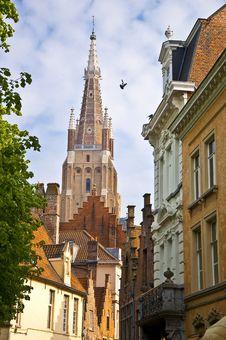 Free Bruges. Belgium. Royalty Free Stock Image - 21297846