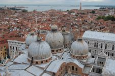 Free View Across The Rooftops Of Venice Stock Photo - 21297850