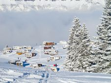 Free Winter In Alps Stock Photo - 21297880