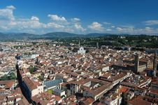 Free Across The Rooftops Of Florence Stock Photos - 21298173