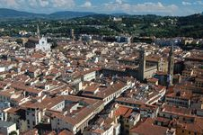 Free Across The Rooftops Of Florence Stock Photo - 21298190