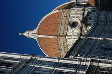 The Duomo And Campanile In Florence, Italy Stock Photos