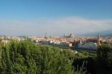 Free A View Of Florence, Tuscany, Italy Royalty Free Stock Images - 21298229