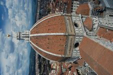 Free A View Of The Dome Of The Duomo, Florence Stock Images - 21298324
