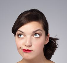 Free Picture Of A Beautiful Woman S Face Stock Photography - 21299542