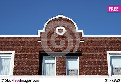 Free Facade Of A Brick House Stock Photography - 2134952