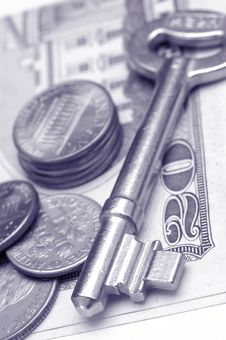 Free Key And Money Stock Images - 2132274