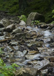 Free Stream In Mountains Stock Image - 2133171