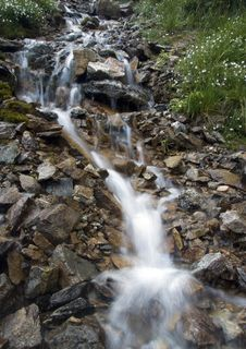 Free Stream In Mountains Stock Photo - 2133210
