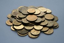Free Coins Heaps Stock Images - 2133284