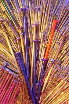 Free Mixed Nails 28 Royalty Free Stock Image - 2133936