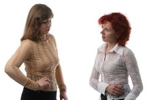 Free Two Businesswomen Royalty Free Stock Photo - 2134055