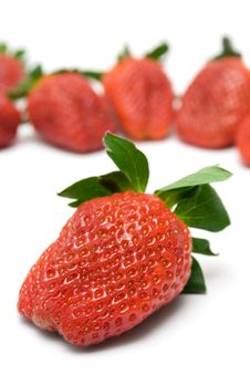 Free Delicious Strawberries Royalty Free Stock Images - 2134449