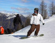 Free Italian Alps For Snowboarding Royalty Free Stock Image - 2134626